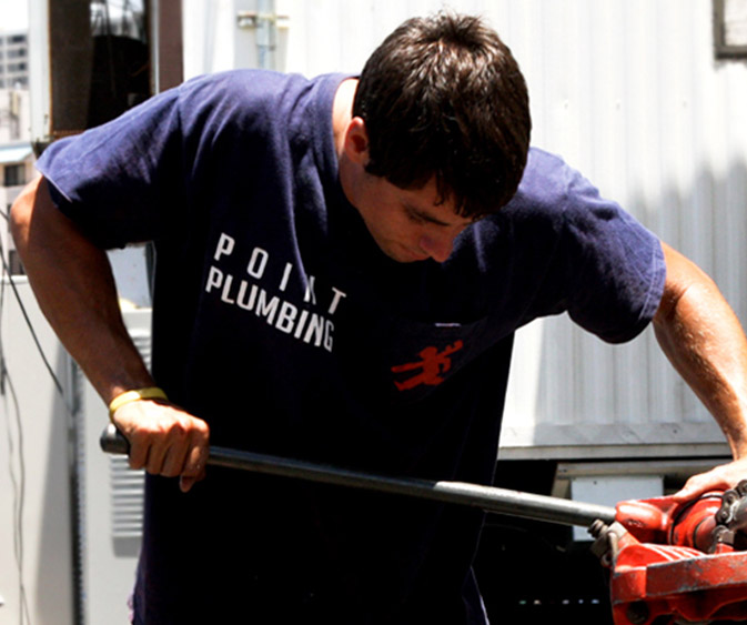 Point Plumbing services the entire island of Oahu